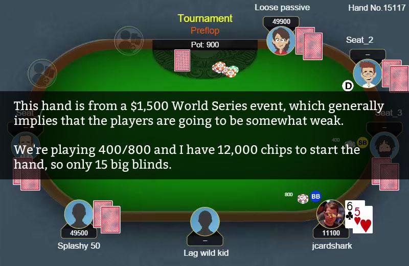 Poker hand quizzes jeux gratuits casino sans telechargement